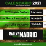Nuevo calendario y puntuabilidad de la Escudería Centro